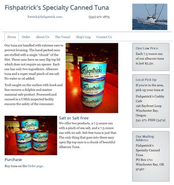 Fishpatrick's Specialty Canned Tuna
